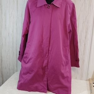 Woman Within Weather Solutions Trench Coat